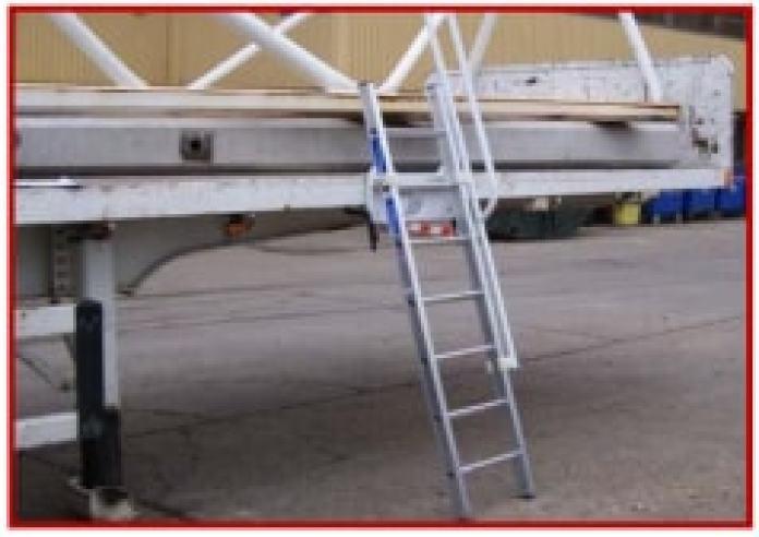 Trailer Ladder access