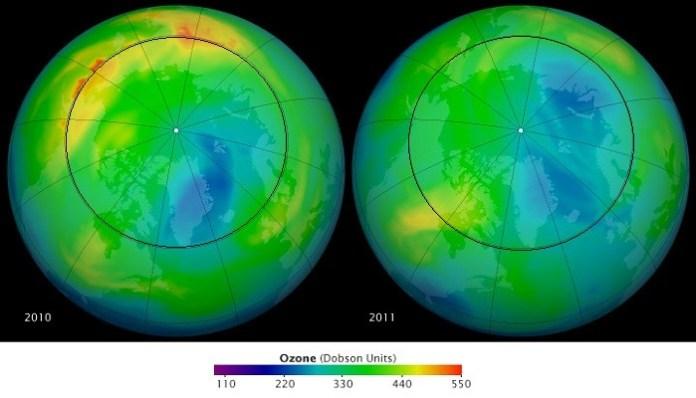 Ozone Depleting Photo