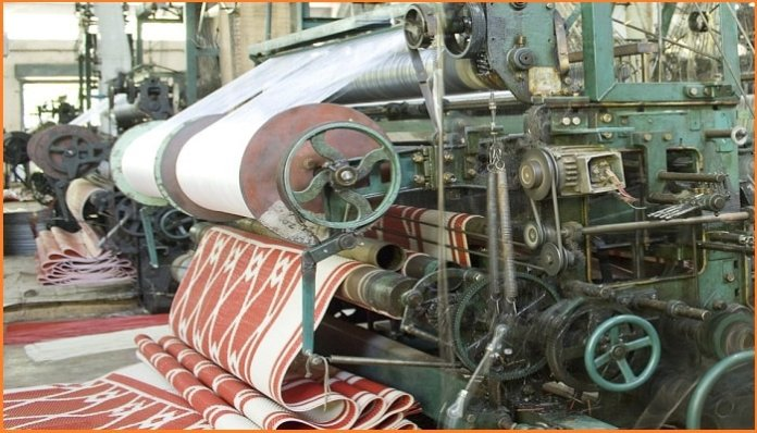 Machine guarding for textile industry