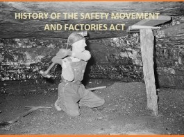 HISTORY OF THE SAFETY MOVEMENT