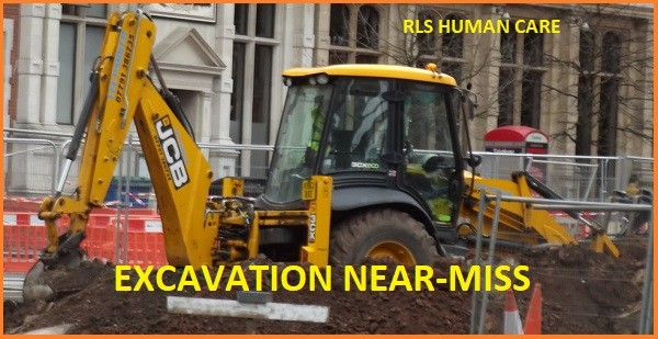 EXCAVATION NEAR MISS