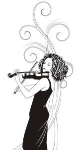 Violinist, Berlin