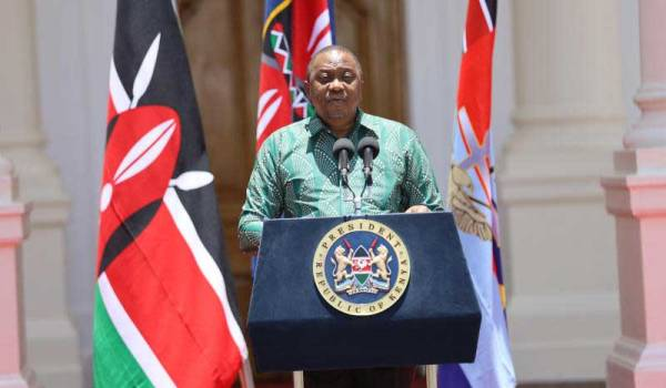 President Uhuru announces pay cut and tax cut to stimulate economy