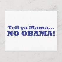 No Obama! Postcard