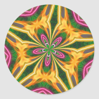 Fleur Feu Autocollants Amp Stickers