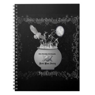 Black Moon SOciety 80 Page Notebook