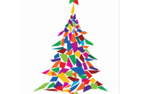 abstract christmas tree paintings 4k pictures 4k pictures full