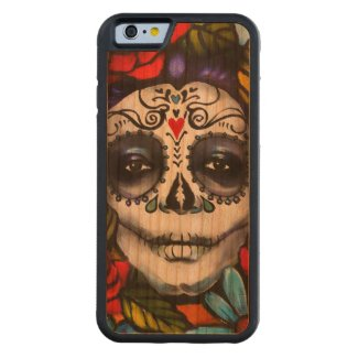 Day of the Dead Cherry iPhone 6 Bumper