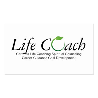Life Coach Business Cards and Business Card Templates ...
