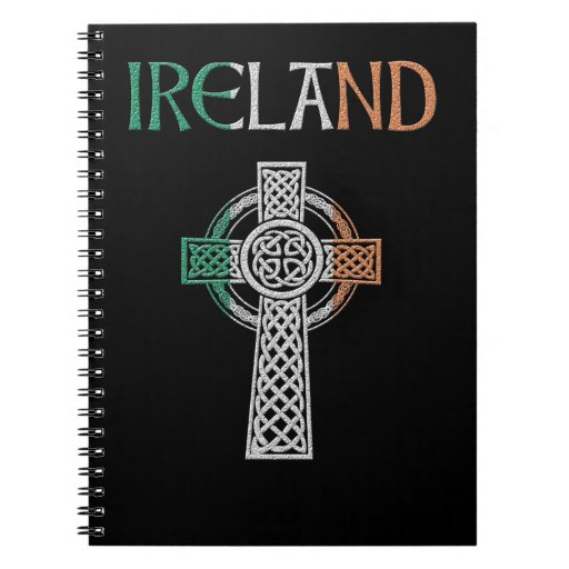 Ireland Celtic Cross Notebook