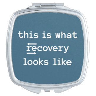 Reflecting Recovery Compact Mirror
