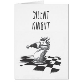 Silent Knight Christmas Card