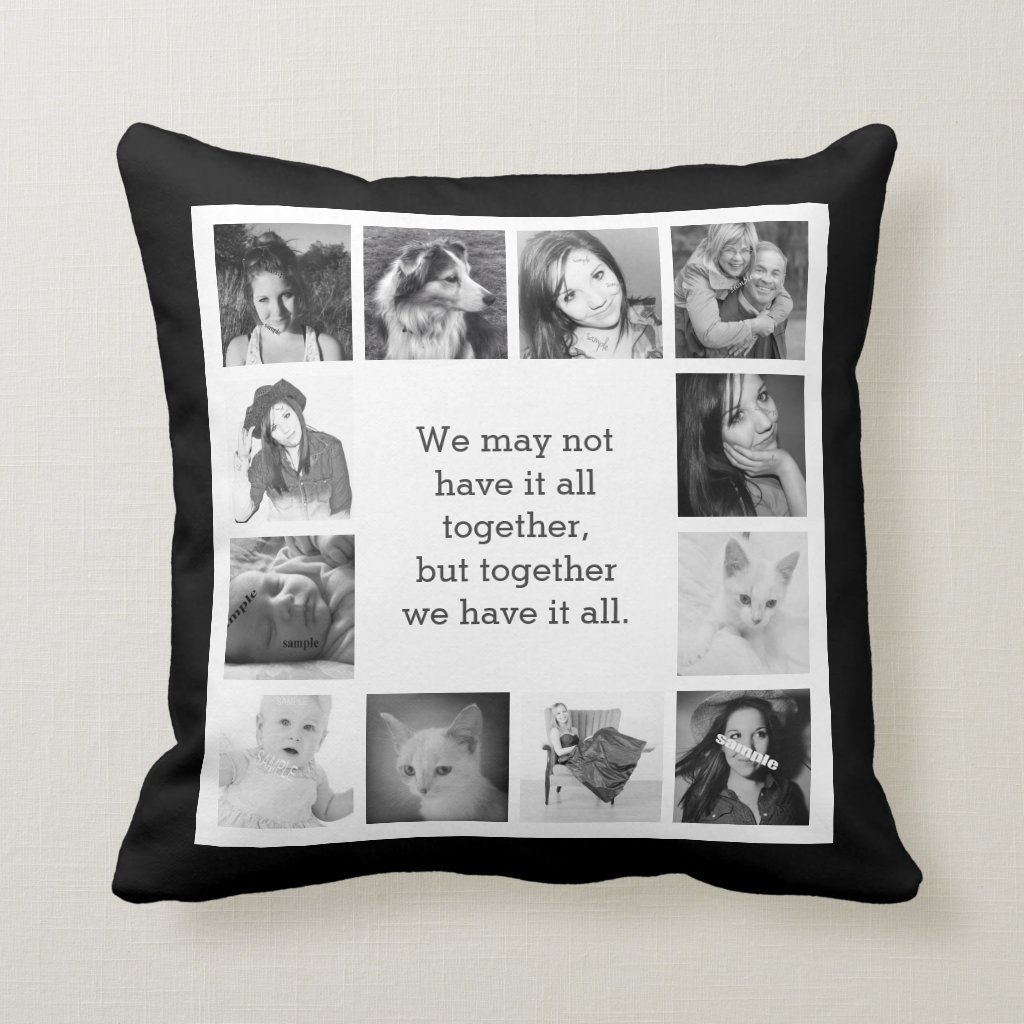 Family Photos Cushion
