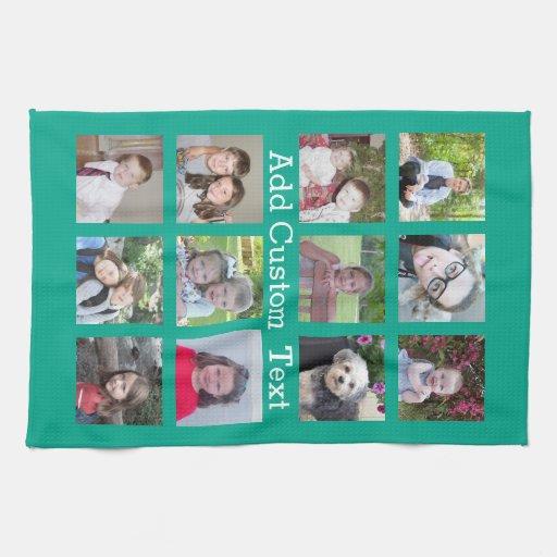 Photo Collage Tea Towel