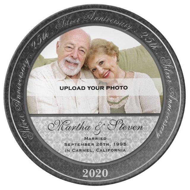 25th Silver Wedding Anniversary Photo
