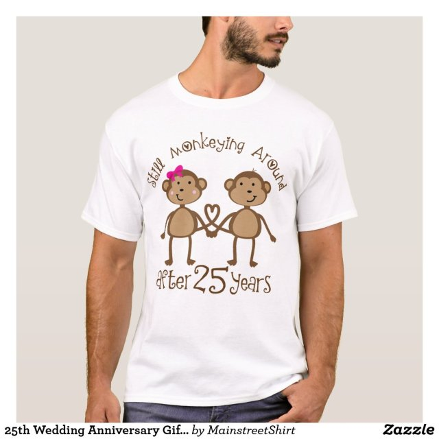 25th Wedding Anniversary T-Shirt
