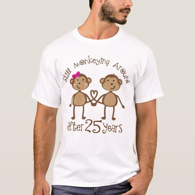 25th Wedding Anniversary T-Shirt