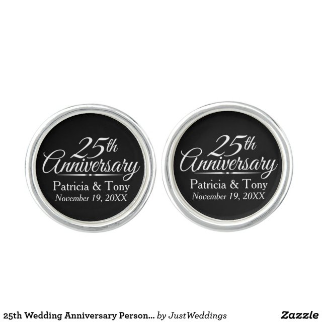 25th Wedding Anniversary Personalised