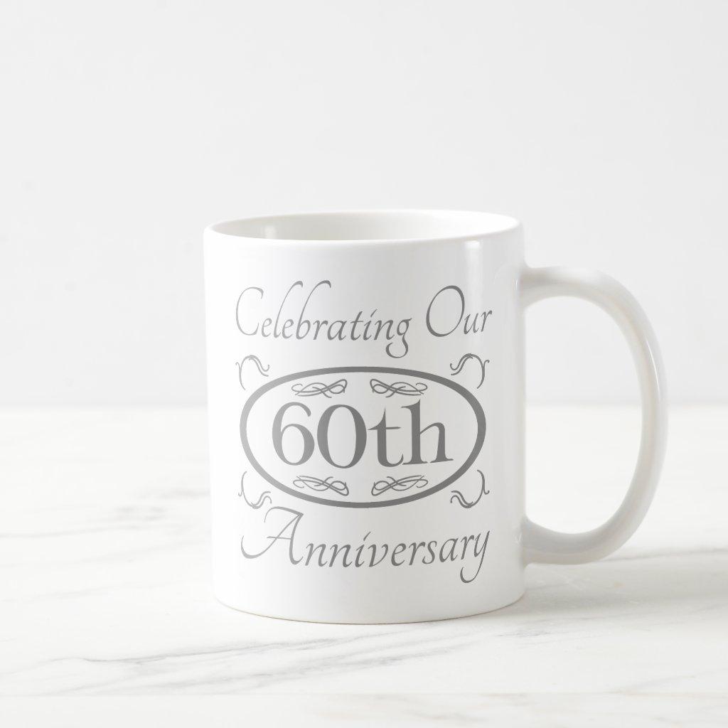 60th Wedding Anniversary Coffee Mug