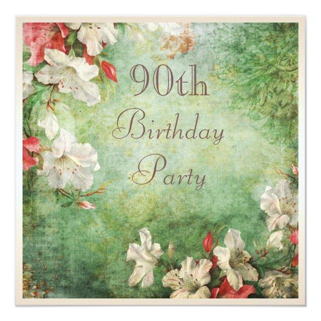 90th Birthday Party Shabby Chic