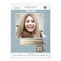 21st Photo Card