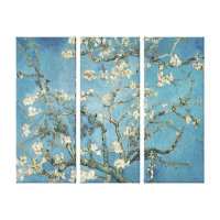 Almond branches in bloom, 1890, Vincent van Gogh Canvas Print