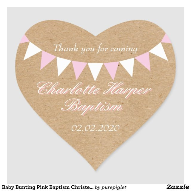 Baptism Christening Sticker