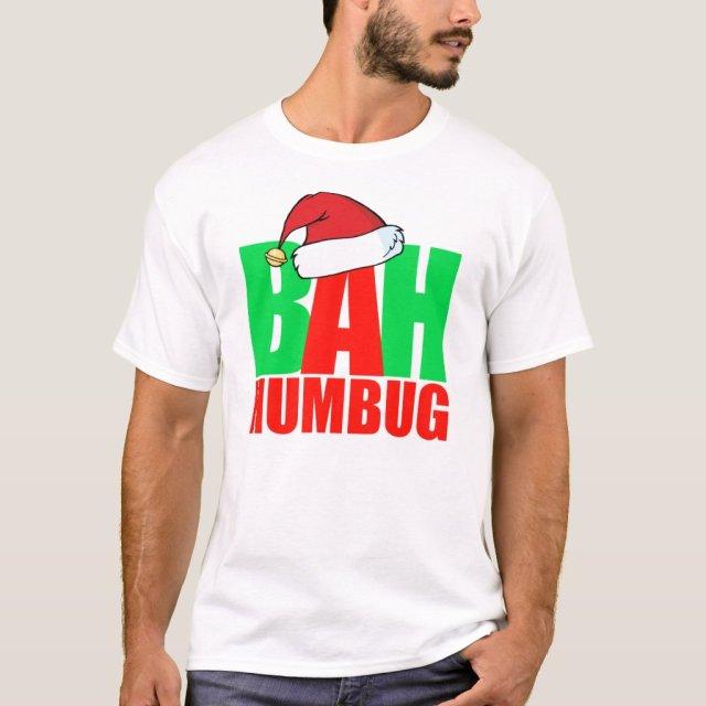 Bah Humbug christmas t-shirt funny santa
