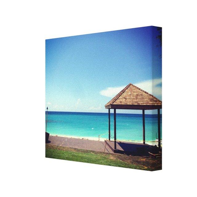 Barbados Beach Canvas