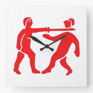 Benin Empire Flag / Emblem Wall Clock