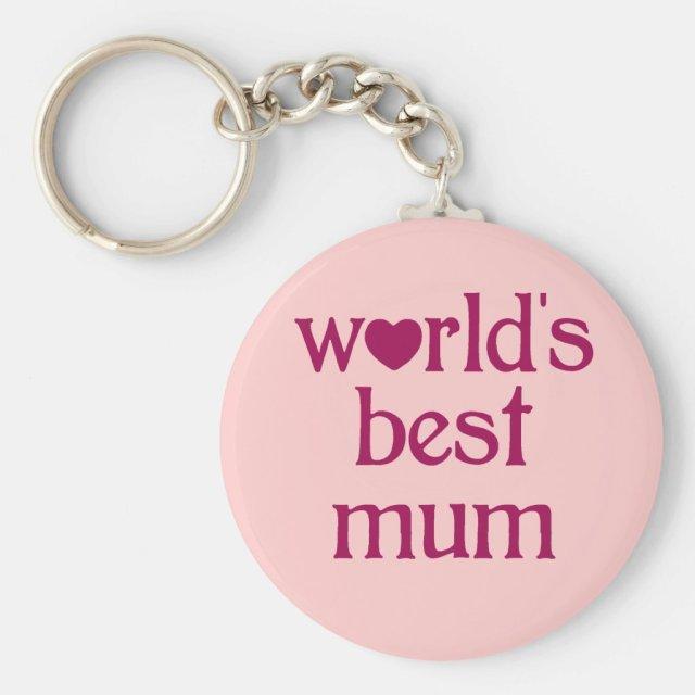 Best Mum Keyring