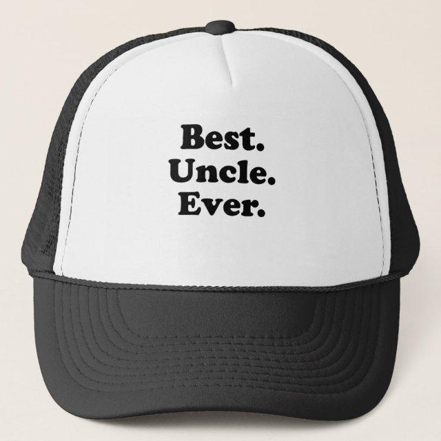 Best Uncle Ever Trucker Hat