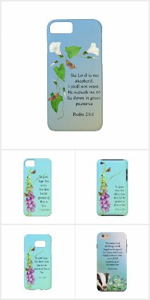 Bible Verse Phone Covers