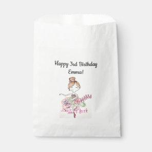 Birthday Ballerina Gift Bags