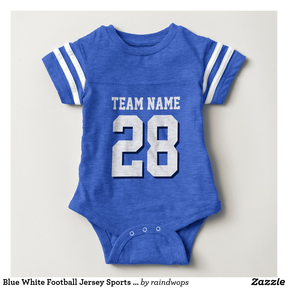 Football Jersey Sports Baby Romper