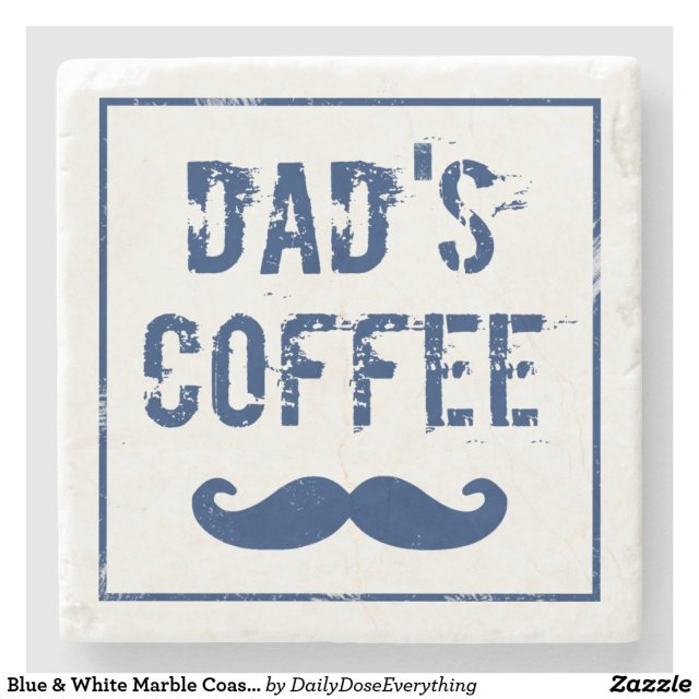 Dad's Coffee Coaster style=