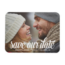 Photo Save the Date Photo Magnet