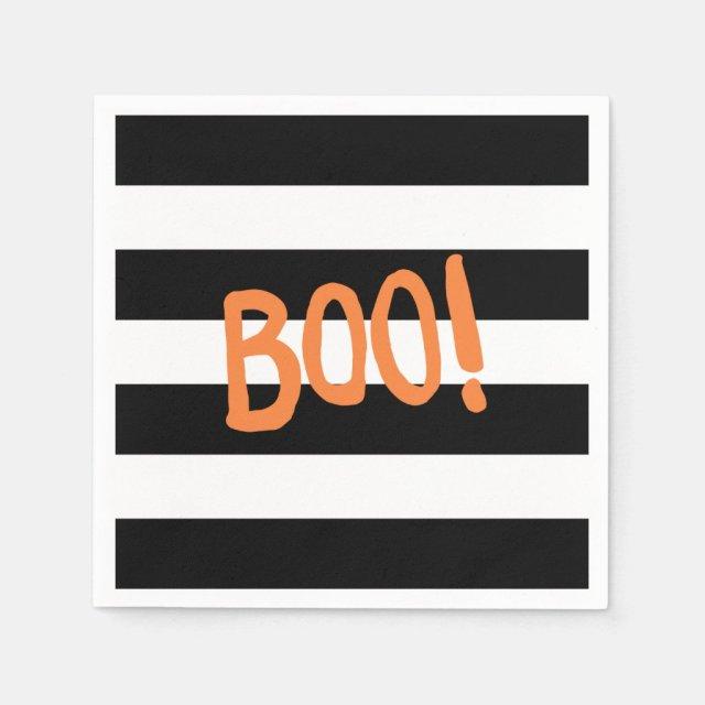 Boo! | Halloween Napkins