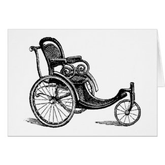 Bring out the Bath Chairs! Greeting Card