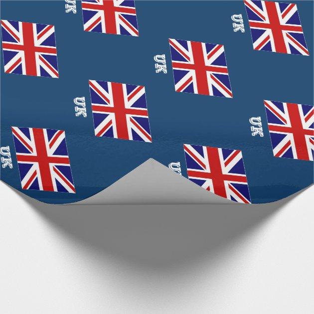 Union Jack Save Date Cards