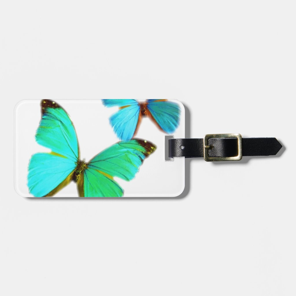 butterflies! Luggage Tag