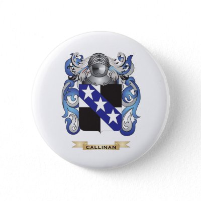 Callinan Coat of Arms (Family Crest) Pin