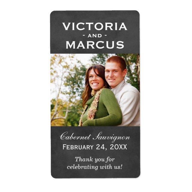 Wedding Photo Labels
