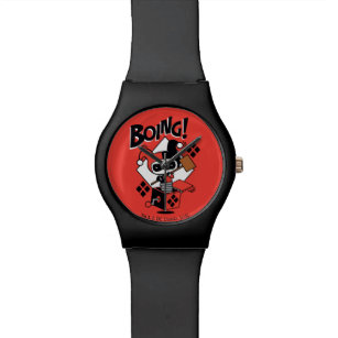 Harley Quinn Wrist Watches | Zazzle UK