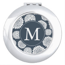 Flowers Monogram Mirror