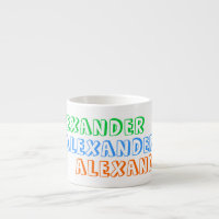 Children's mug with personalized name