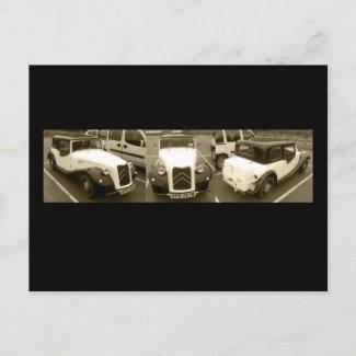 Citroen Deauville postcard