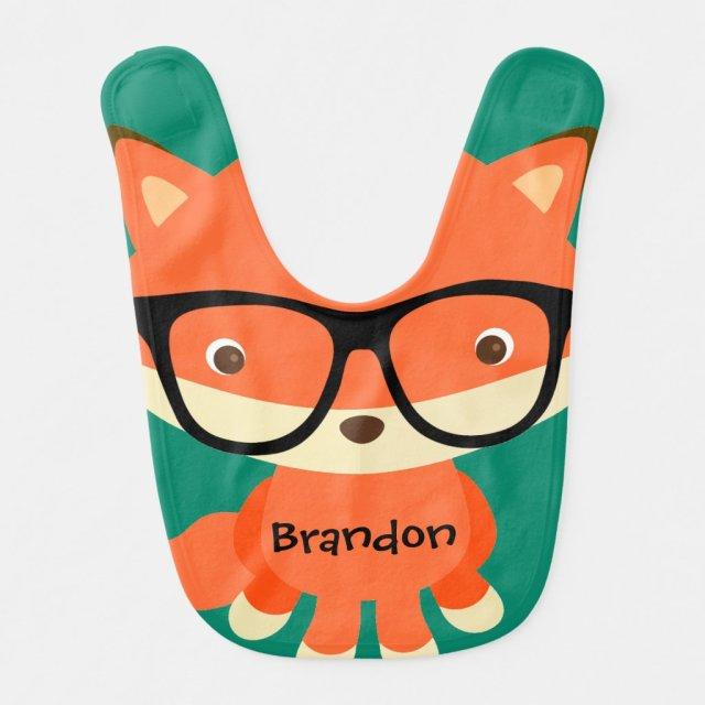 Clever Fox Bib
