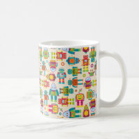 Kids Robot Coffee Mug