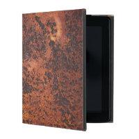 Cool Men's Rusty Looking iPad Case